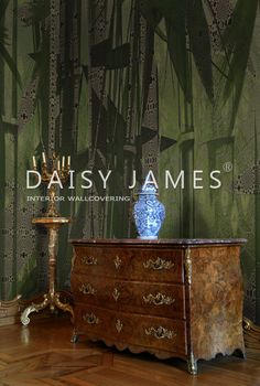 wall covering by DAISY JAMES #interiordesign #Luxuryhouses