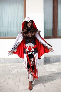 Assasin's creed cosplay by Zvezdakris.deviantart.com on @deviantART