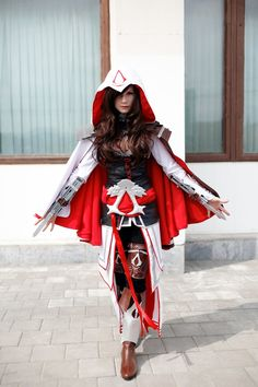 Assasin's creed cosplay by Zvezdakris.deviantart.com on @deviantART