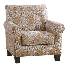 Corridon Accent Chair in Burlap   Nebraska Furniture Mart