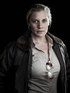 "Karrin Murphy: Katee Sackhoff.  She'd be great, though a little tall. But, hey, if we can have a 6'2"" Wolverine, we can have a 5'6"" Murphy ;)        Fantasy casting Jim Butcher's ""Dresden Files."""