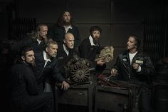 Freddy Fabris / The renaissance series: The Anatomy Lesson (Rembrandt) // US-based photographer Freddy Fabris had always wanted to pay homage to the Renaissance masters with his photos in some way, but he wasn't sure how until he stumbled upon an auto-mechanic shop in the Midwest. This led to a brilliant series of portraits with auto mechanics reenacting famous Renaissance paintings. // BoredPanda