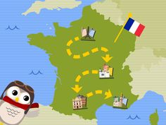 Gus on the Go: Really fabulous app for kids to teach 13 foreign languages in a really fun way