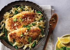 Need a yummy pasta recipe? Our Gremolata Chicken Pasta recipe is sure to be a big hit! See the cooking instructions here. Yummy Pasta Recipes, Chicken Pasta Recipes, Dinner Recipes, Pasta Side Dishes, Pasta Sides, Main Dishes, Gremolata Recipe, Cooking Instructions, Ethnic Recipes