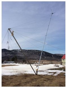 How a Small Wind Turbine Works, Part 4: The Tower - Renewable Energy - MOTHER EARTH NEWS