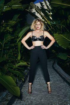 Letícia Spiller em seu ensaio para a VIP - Foto: Robert Astley-Sparke/ Revista VIP