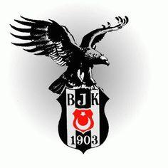 The logo for my favorite football team, #Besiktas.