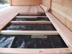 zelf een overkapping van douglas hout maken