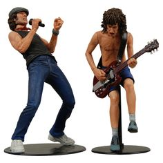 "Neca 7"" Brian Johnson & Angus Young - AC/DC"
