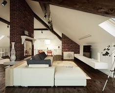 Attic Living Room Design Attic Living Room Design With Sloped Ceiling