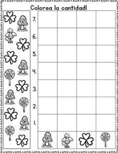 1188 best kindergarten spanish images in 2019 day care preschool preschool math. Black Bedroom Furniture Sets. Home Design Ideas