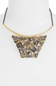Alexis Bittar 'Elements' Cluster Bib Necklace available at #Nordstrom