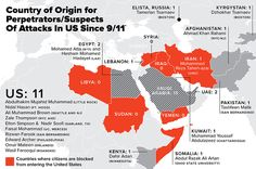 This Map Might Make You Think Twice About Trump's Immigration Ban