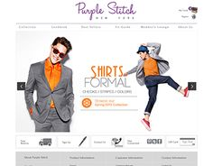 """Check out new work on my @Behance portfolio: """"Purple Stich - Ecommerce Website"""" http://on.be.net/1W85Lrr"""