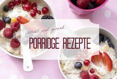 Porride-Rezepte für ein gesundes Frühstück. Der leckere Haferbrei aus Haferflocken und Milch versorgt uns mit viel Energie. Perfekt für den Start in den Tag | http://eatsmarter.de/rezepte/mahlzeit/fruehstueck/porridge