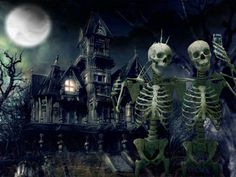 Shared by We Love Skulls and Skeletons on FB Spooky Selfie