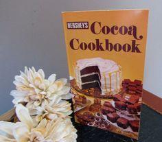 Vintage Hershey's Cocoa Cookbook 1979  by MagellansBellyStudio