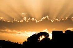 Sunset in Levanto