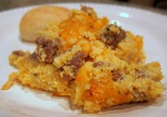 Sausage and Cheese Grit Casserole
