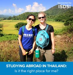 Reasons to study abroad in Thailand