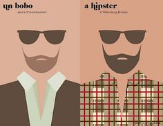 Paris vs New York...Bobo vs Hipsters.