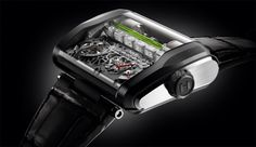"Not in the liquid crystal!? ""Liquid"" is numb to the mechanical watch that displays the time"