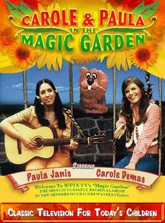 The Magic Garden, one of the most successful, locally produced children's television shows in the country, was broadcast on WPIX New York, from the early 1970's to the mid 1980's.  Fifty-two half-hour episodes and a one hour holiday special  Stars Carole Demas and Paula Janis helped create the show.