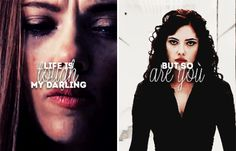 """"""" Life is tough, my darling, but so are you."""" - S.L. #marvel"""