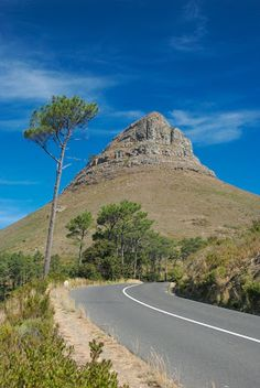 Lion's Head in Cape Town, South Africa
