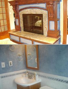 Let this decorative painter and artist bring your walls to life. She is an expert home interior painter  who specializes in venetian plaster, murals and all types of faux wall finishes.