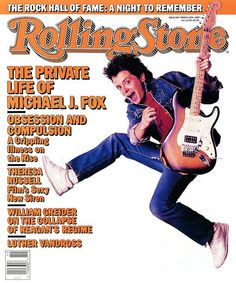 Classic Rolling Stone Magazine Covers | rolling stone magazine cover, michael j fox, classic back to the ...