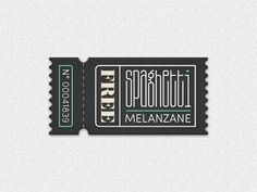That makes me hungry for design :: Spaghetti coupon by Arno Kathollnig