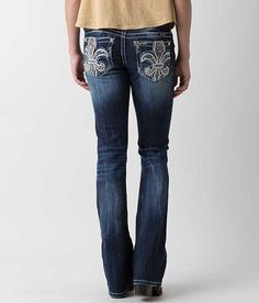 NEW WOMEN'S MISS ME SIGNATURE BOOT STRETCH JEANS SIZE 25 X 33 #MissMe #BOOT