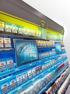Buildt in digital signage solution on the behalf of Phillip Morris/Camel in almost 1000 Pressbyrån stores in Sweden.
