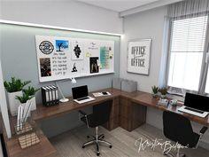 Návrh interiéru pracovne Keď práca teší, pohľad na pracovnú časť Corner Desk, Study, Furniture, Home Decor, Homemade Home Decor, Studio, Corner Table, Home Furnishings, Learning