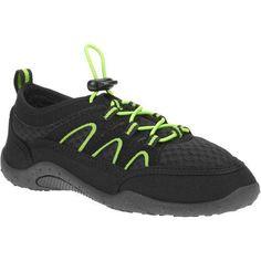 Boys Beach Shoes Slip-On Laces Youth & Boys Sizes Imported Black/Lime Brand New #GenericOPImported #WaterShoesAquaSocksBeachShoesLoungeShoes
