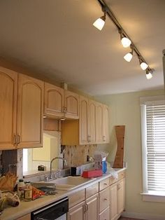 Kitchen Track Lighting | Kitchen Cabinet Lighting Is A Necessary Component  Of Kitchen Lighting .