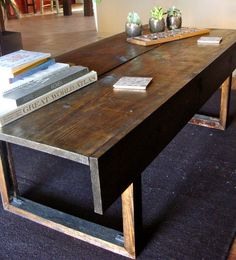 Handmade Rustic Coffee Table - http://www.etsy.com/listing/126230773/handmade-rustic-coffee-table?ref=sr_gallery_32_search_query=rustic+coffee+table_view_type=gallery_ship_to=US_search_type=all