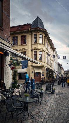 Göteborg café Haga Street View, Jet Lag, Pontoons, Aurora Borealis, Archipelago, Landscape