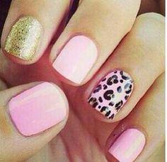 Pink, Cheetah, Glitter, and FUN <3  Free Nail Technician Information  http://www.nailtechsuccess.com/nail-technicians-secrets/?hop=megairmone