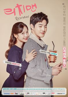 I'm so numb to the K-drama PPL escalating insanity but even I was almost jolted to annoyance upon spotting a cold coffee cup in male lead Suho's hands in the official drama poster for MBN cable drama Rich Man, adapted … Continue reading → Korean Drama Romance, Korean Drama List, Watch Korean Drama, Korean Drama Series, Web Drama, Drama Film, Drama Movies, Drama Korea, Kim Woo Bin