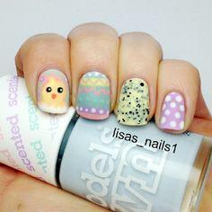 lisas_nails1 easter #nail #nails #nailart
