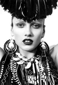 Karmen Pedaru by Catherine Servel for The Sunday Telegraph | Fashion photography | Editorial