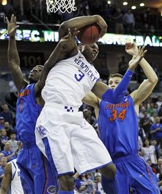 Kentucky's in the SEC final!  They're my favorite to win it all.  I will be pulling for Cincinnati since I am an alum.