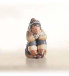 Lladro Pensive Eskimo Boy Porcelain Figurine. #Lladro #Statue #Sculpture #Decor #Gift #gosstudio .★ We recommend Gift Shop: http://www.zazzle.com/vintagestylestudio ★