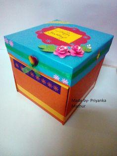 Shining Colours Handmade Crafts : Secret Birthday Box!!