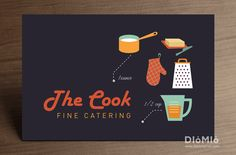 Looking For Awesome Catering Service Business Cards You Can Find Out Unique At Diomioprint
