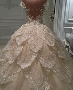 Feathers Wedding Dresses Appliques Beads Bridal Ball Gowns Custom Made Luxury Crystal Wedding Dresses, Beautiful Wedding Gowns, 2016 Wedding Dresses, Bridal Dresses, Crystal Dress, Dresses 2016, Dresses Uk, Wedding Gown Ballgown, Dress Wedding