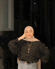 Modern Hijab Fashion, Street Hijab Fashion, Hijab Fashion Inspiration, Muslim Fashion, Modest Fashion, Fashion Outfits, Casual Hijab Outfit, Hijab Chic, Casual Outfits