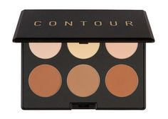 Details+ Draw attention to your best features with this palette that contains 6 shades: 3 for highlighting and 3 for contouring. The contour shades help add dimension and define your cheekbones, jaw,